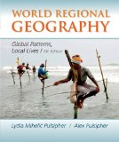 World Regional Geography:   2013 9781464110702 Front Cover