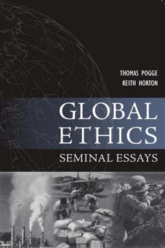 Global Ethics Seminal Essays  2008 edition cover
