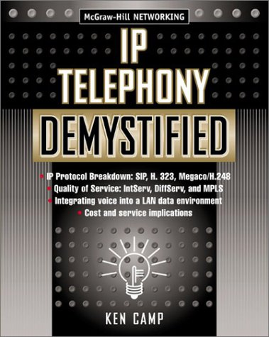 IP Telephony Demystified   2003 9780071406703 Front Cover