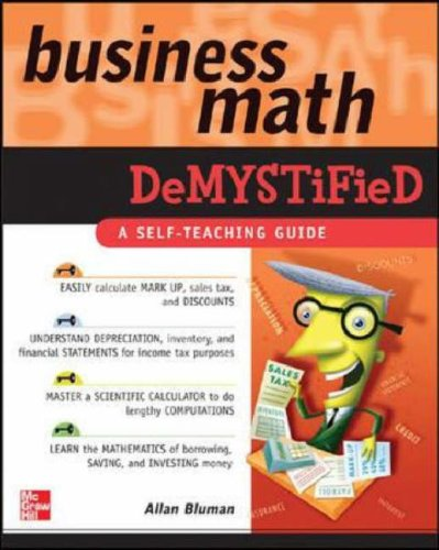 Business Math Demystified   2006 9780071464703 Front Cover
