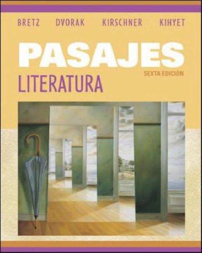 Pasajes Literatura 6th 2006 edition cover