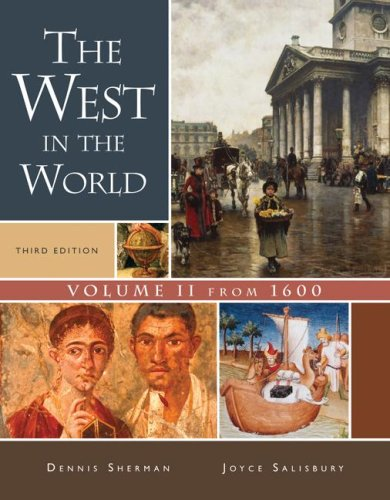 West in the World From 1600 3rd 2008 edition cover