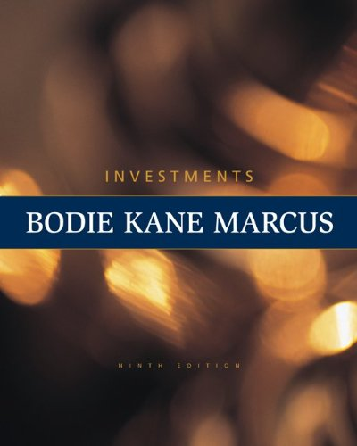 Investments  9th 2011 edition cover