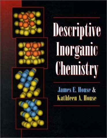 Descriptive Inorganic Chemistry   2001 edition cover