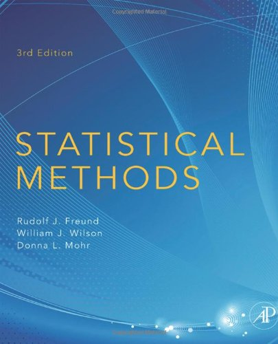 Statistical Methods  3rd 2010 edition cover
