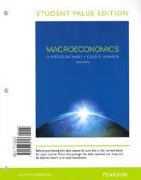 Macroeconomics  6th 2013 edition cover