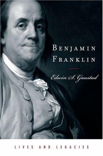 Benjamin Franklin   2008 9780195368703 Front Cover