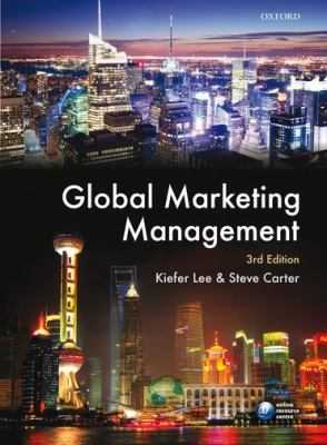 Global Marketing Management  3rd 2012 edition cover