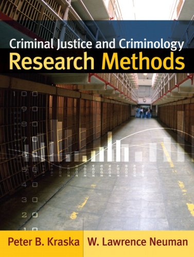 Criminal Justice and Criminology Research Methods   2008 edition cover