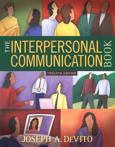 Interpersonal Communication Book  12th 2009 edition cover
