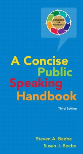 Concise Public Speaking Handbook  3rd 2012 (Revised) edition cover