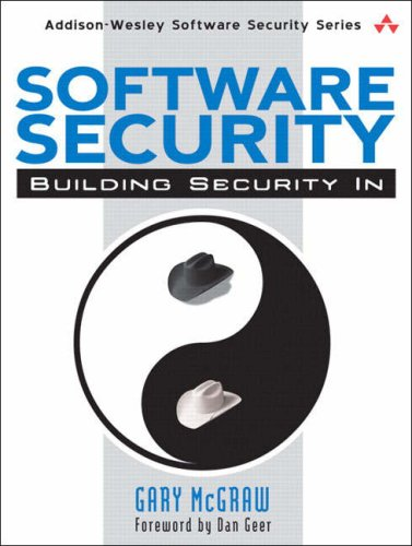 Software Security Building Security In  2006 edition cover