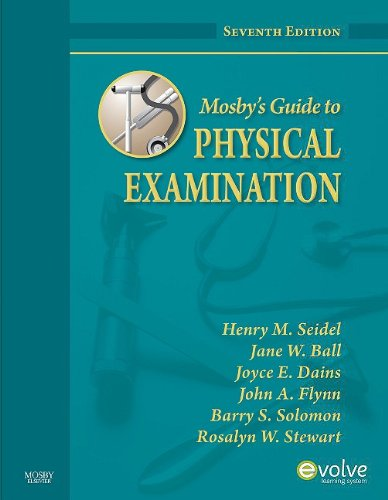 Mosby's Guide to Physical Examination  7th 2010 edition cover