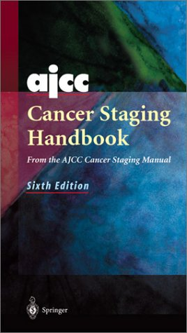 AJCC Cancer Staging Handbook  6th 2002 (Revised) edition cover