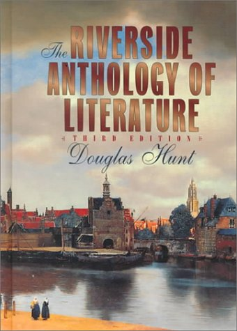 Riverside Anthology of Literature  3rd 1997 edition cover