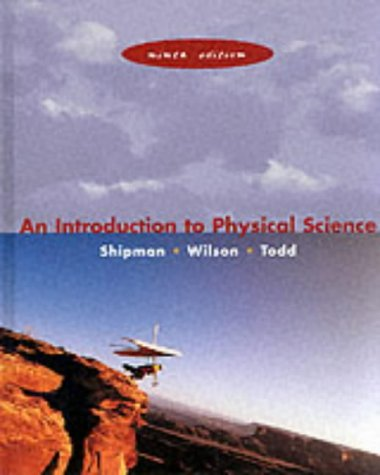 Introduction to Physical Science  9th 2000 edition cover