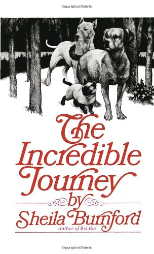 Incredible Journey   1988 9780440226703 Front Cover
