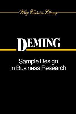 Sample Design in Business Research   1960 9780471523703 Front Cover