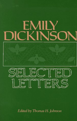 Emily Dickinson Selected Letters  1986 edition cover