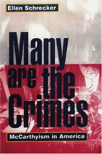 Many Are the Crimes McCarthyism in America  1999 (Revised) edition cover