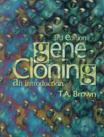 Gene Cloning  3rd 1995 9780748740703 Front Cover