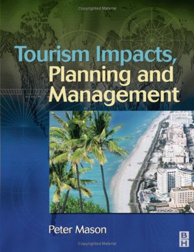 Tourism Impacts, Planning and Management   2003 edition cover