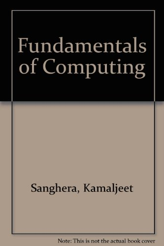 Fundamentals of Computing Revised  9780757522703 Front Cover