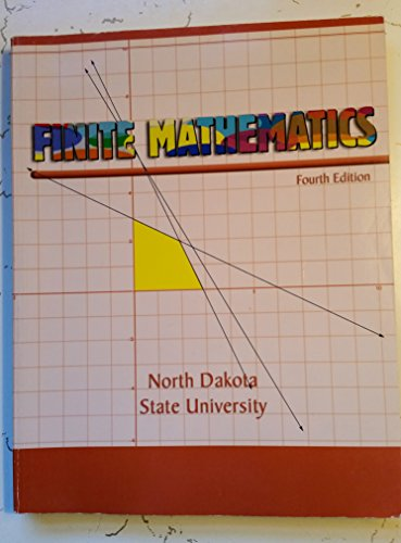 Finite Mathematics  4th (Revised) 9780757564703 Front Cover