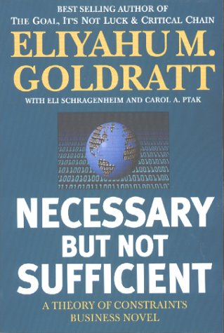 Necessary but Not Sufficient 1st 9780884271703 Front Cover