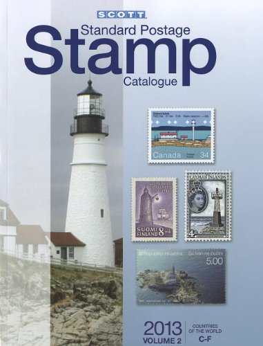Scott Standard Postage Stamp Catalogue 2013: Countries of the World C-F  2012 edition cover
