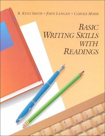 Basic Writing Skills with Readings 1st 9780944210703 Front Cover
