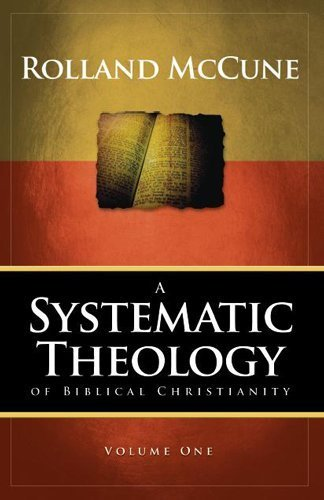 SYSTEMATIC THEOLOGY OF BIBLICAL...VOL.1 N/A edition cover