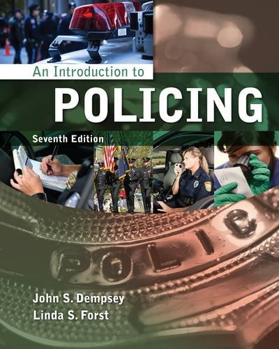 Introduction to Policing  7th 2014 edition cover