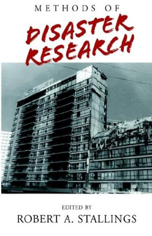 Methods of Disaster Research   2002 edition cover