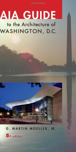 AIA Guide to the Architecture of Washington, D. C.  5th 2012 edition cover