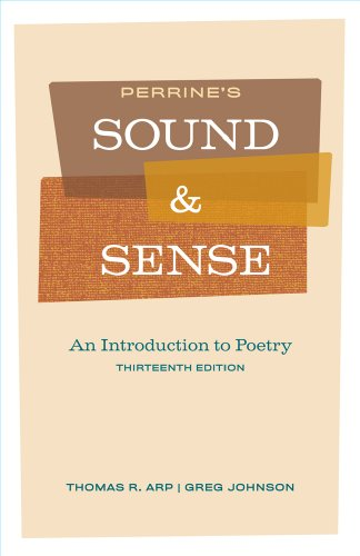 Perrine's Sound and Sense An Introduction to Poetry 13th 2011 edition cover