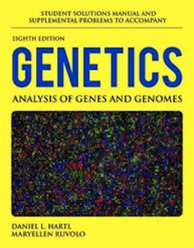 Genetics Analysis of Genes and Genomes 8th 2013 edition cover