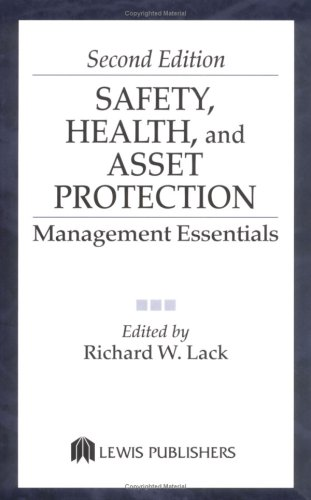 Safety, Health, and Asset Protection  2nd 2002 (Revised) edition cover