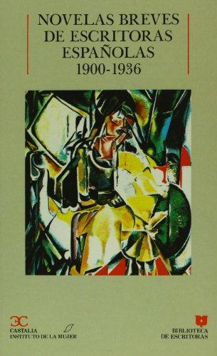 NOVELAS BREVES DE ESCRITORAS E 1st edition cover