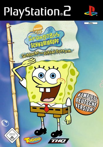 Sponge Bob - Schlacht um Bikini Bottom (Software Pyramide) PlayStation2 artwork