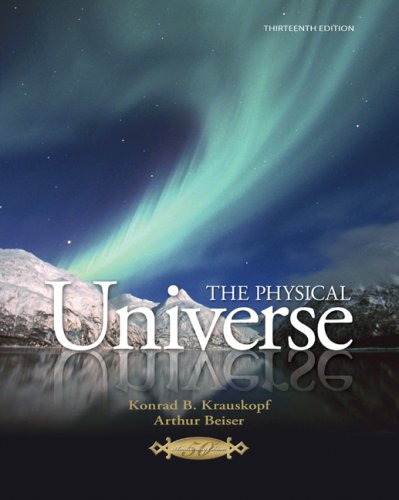 Physical Universe  13th 2010 9780077270704 Front Cover