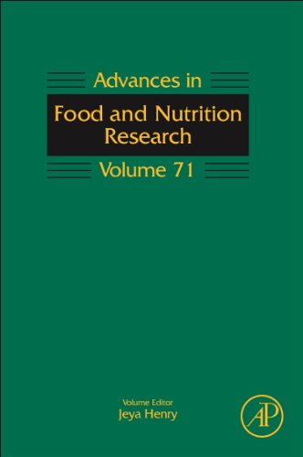 Advances in Food and Nutrition Research   2014 edition cover