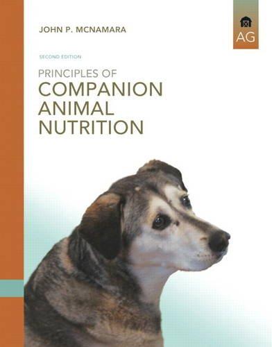 Principles of Companion Animal Nutrition  2nd 2014 edition cover