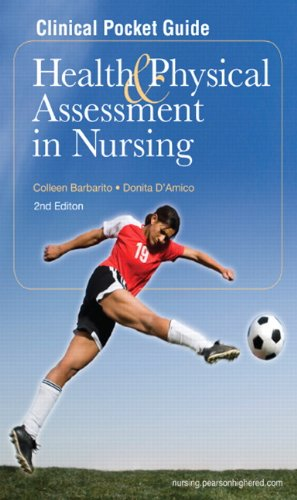 Clinical Pocket Guide for Health and Physical Assessment in Nursing  2nd 2012 edition cover