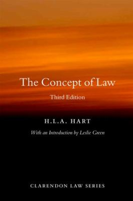 Concept of Law  3rd 2012 edition cover