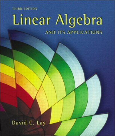 Linear Algebra and Its Applications  3rd 2003 edition cover