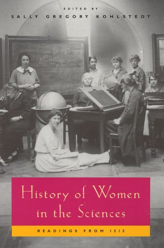 History of Women in the Sciences Readings from Isis  1999 edition cover