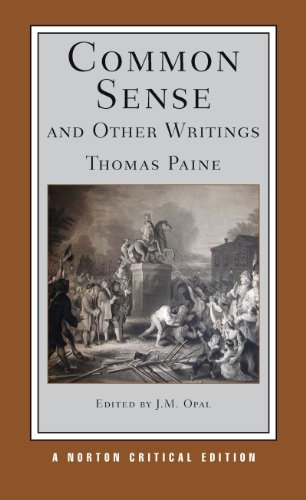 Common Sense and Other Writings   2012 edition cover