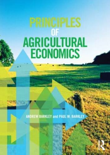 Principles of Agricultural Economics   2013 edition cover