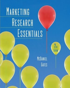 Marketing Research Essentials  7th 2010 edition cover
